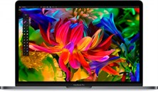 Ноутбук Apple MacBook Pro 15,4'' Touch Bar и Touch ID Silver MLW72RU/A