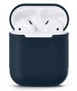 Чехол силиконовый Gurdini Soft Touch для AirPods темно-синий