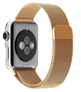 Миланский сетчатый ремешок Apple Watch 42mm с застежкой Gold
