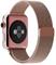 Миланский сетчатый ремешок Apple Watch 38mm с застежкой Rose Gold - фото 30468